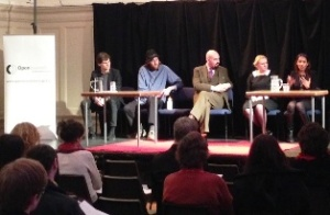 Summerhall Q and A panel session